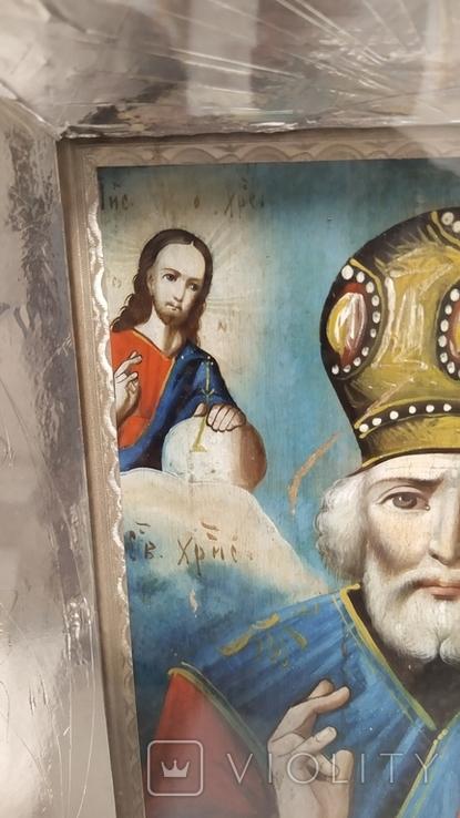 Икона Св. Николай, фото №10
