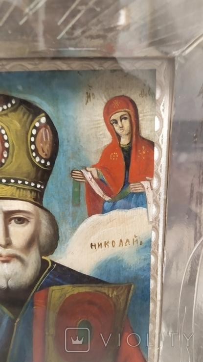 Икона Св. Николай, фото №11