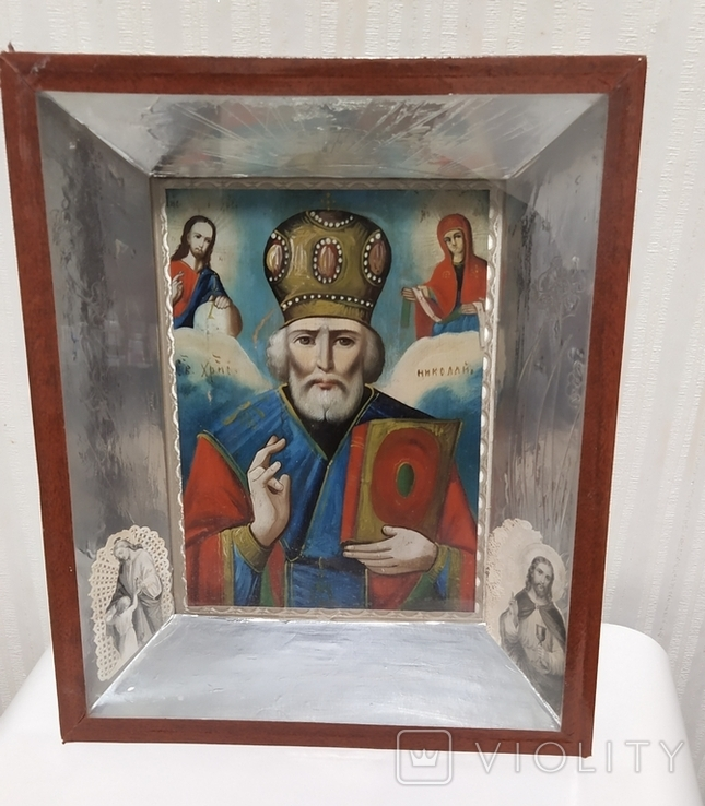 Икона Св. Николай, фото №2