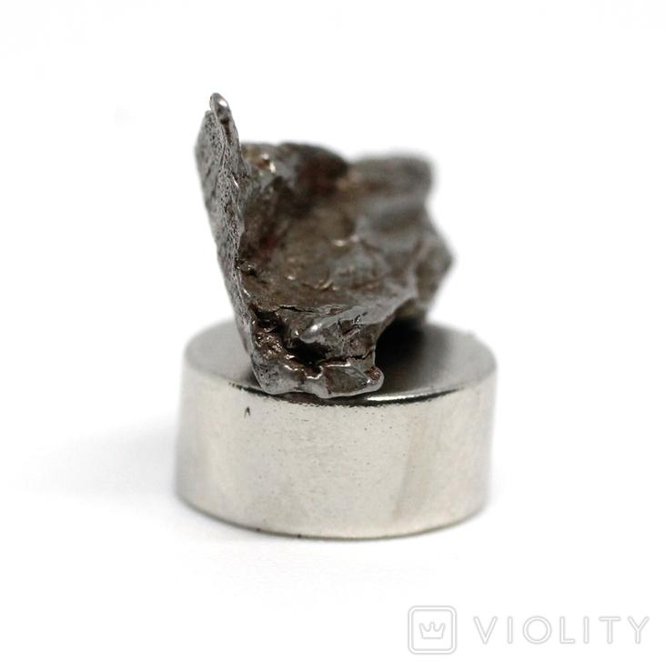 Залізний метеорит Campo del Cielo, 1,7 грам, із сертифікатом автентичності, фото №11