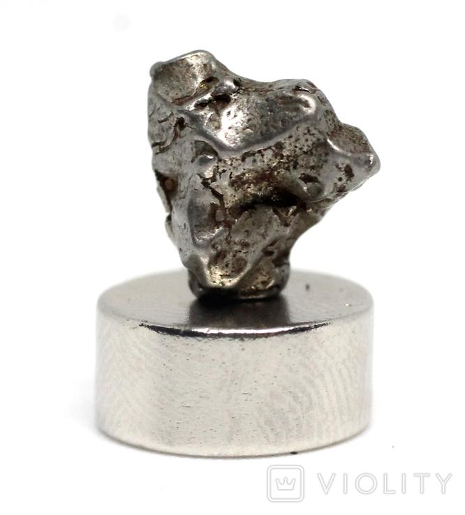 Залізний метеорит Campo del Cielo, 1,4 грам, із сертифікатом автентичності, фото №7