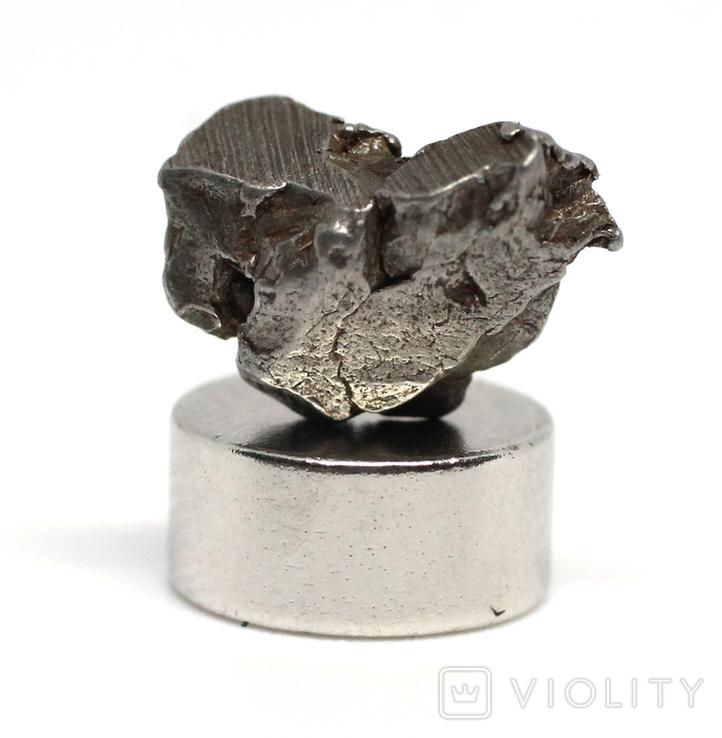Залізний метеорит Campo del Cielo, 1,3 грам, із сертифікатом автентичності, фото №10