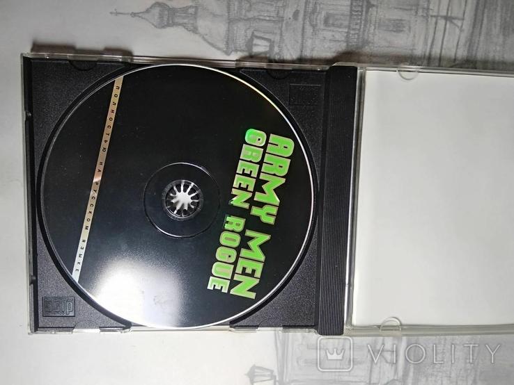 Игры диски Пс1 Playstation 1 one Army men green rogue, фото №3
