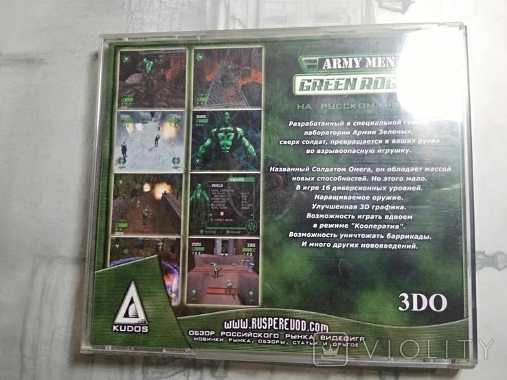 Игры диски Пс1 Playstation 1 one Army men green rogue, фото №4
