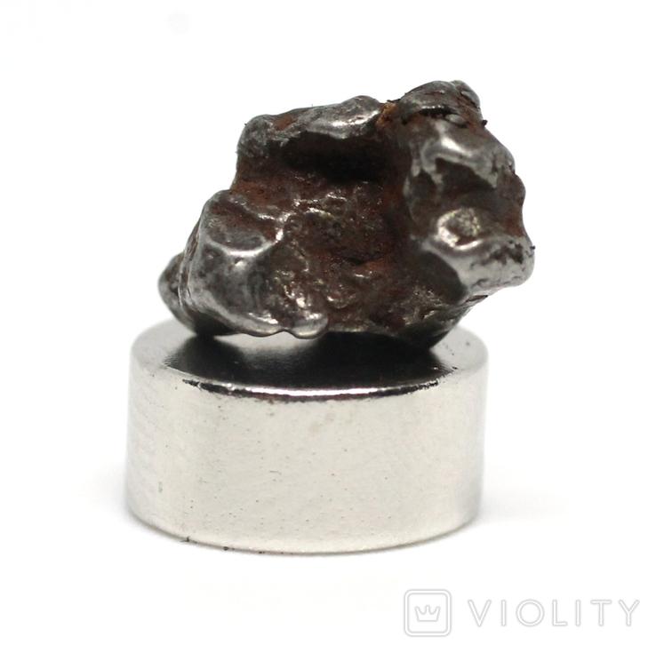 Залізний метеорит Campo del Cielo, 1,6 грам, із сертифікатом автентичності, фото №8