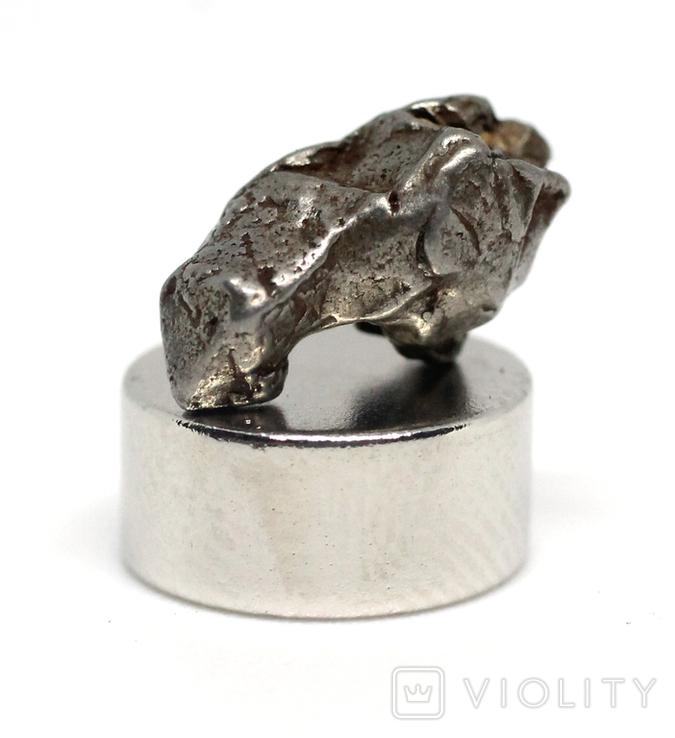 Залізний метеорит Campo del Cielo, 1,2 грам, із сертифікатом автентичності, фото №2