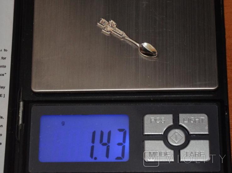 Ложка-загребушка (сувенир на удачу) №1, фото №4