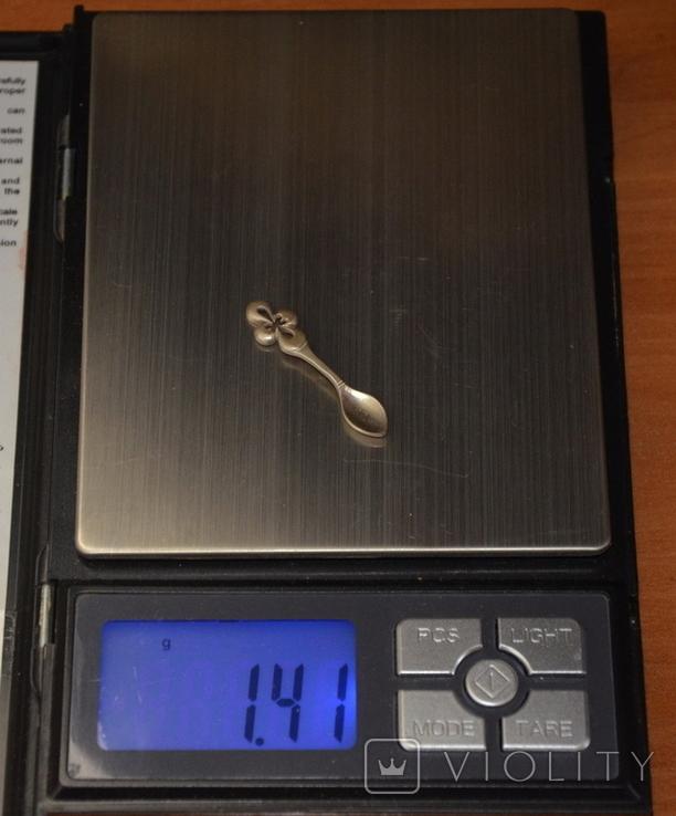 Ложка-загребушка (сувенир на удачу) №3, фото №4
