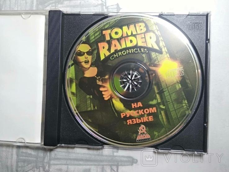 Игры диски Пс1 Playstation 1 one tomb raider cronicles, фото №3