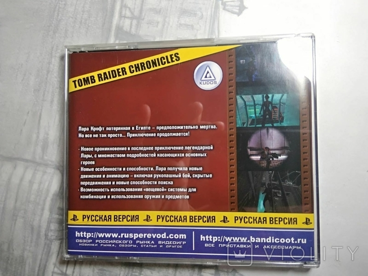 Игры диски Пс1 Playstation 1 one tomb raider cronicles, фото №4