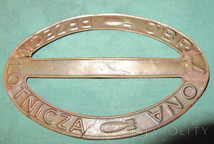 OBORONA PRZECIWLOTNICZA (Ліга протиповітряної та газової оборони), дві відзнаки., фото №3