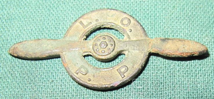 OBORONA PRZECIWLOTNICZA (Ліга протиповітряної та газової оборони), дві відзнаки., фото №7