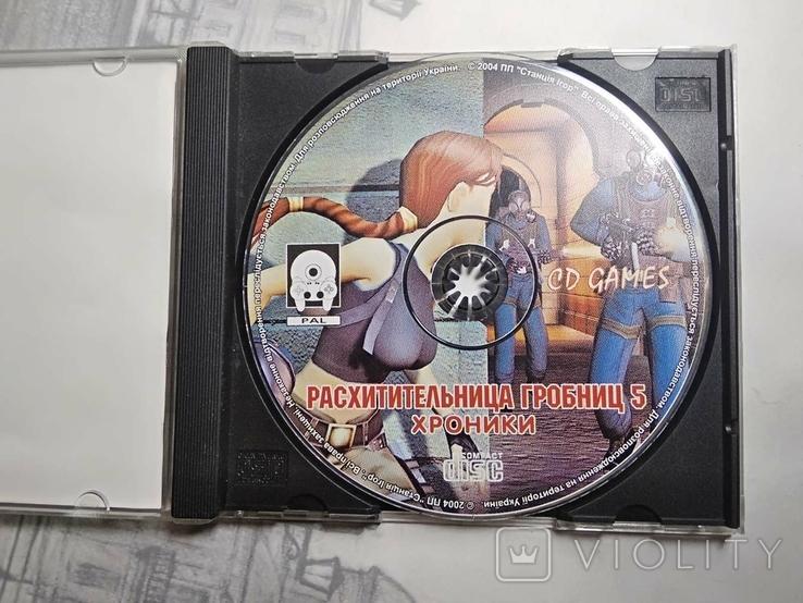 Игры диски Пс1 Playstation 1 one tomb raider 5, фото №3