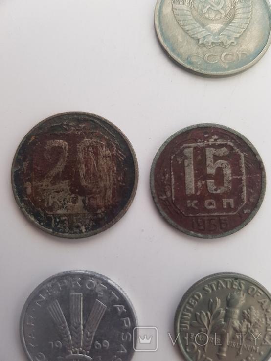 Монеты разные одним лотом, фото №3
