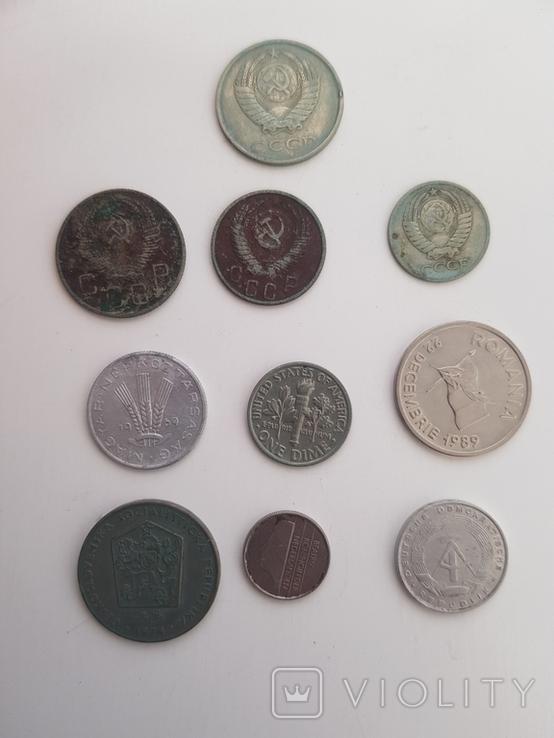 Монеты разные одним лотом, фото №4
