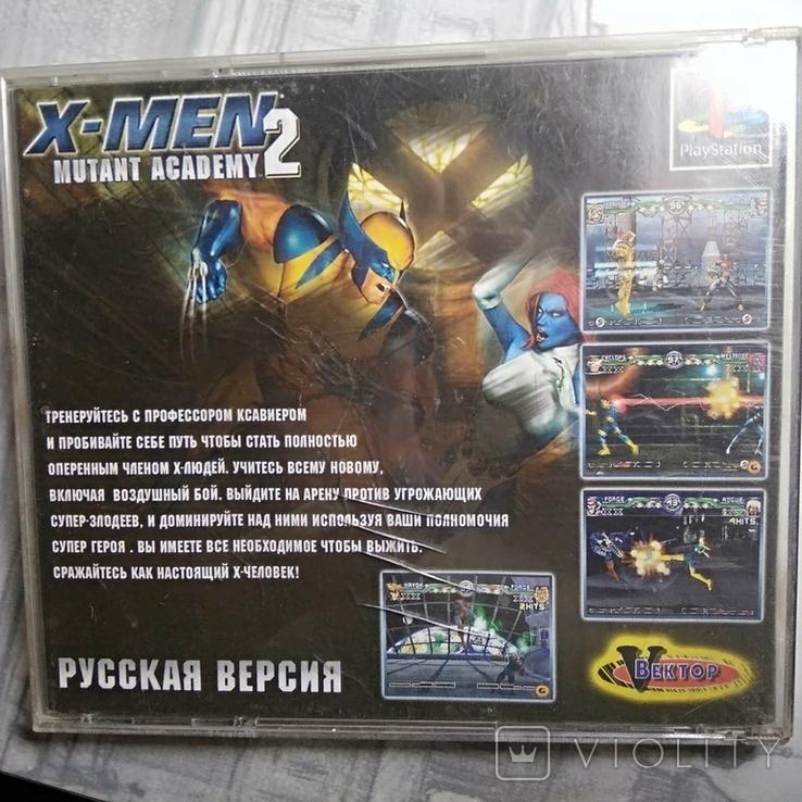 Игры диски Пс1 Playstation 1 one x-men, фото №4