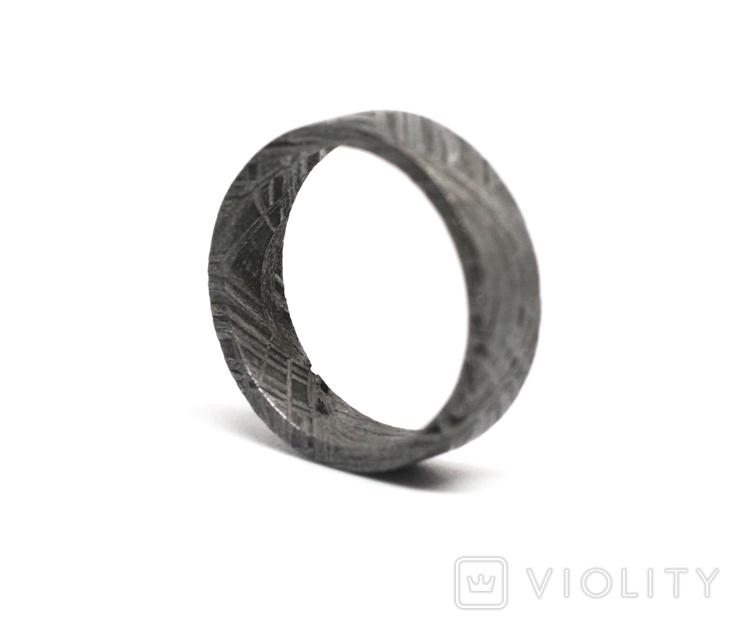 Каблучка із залізного метеорита Muonionalusta, з сертифікатом автентичності, фото №7
