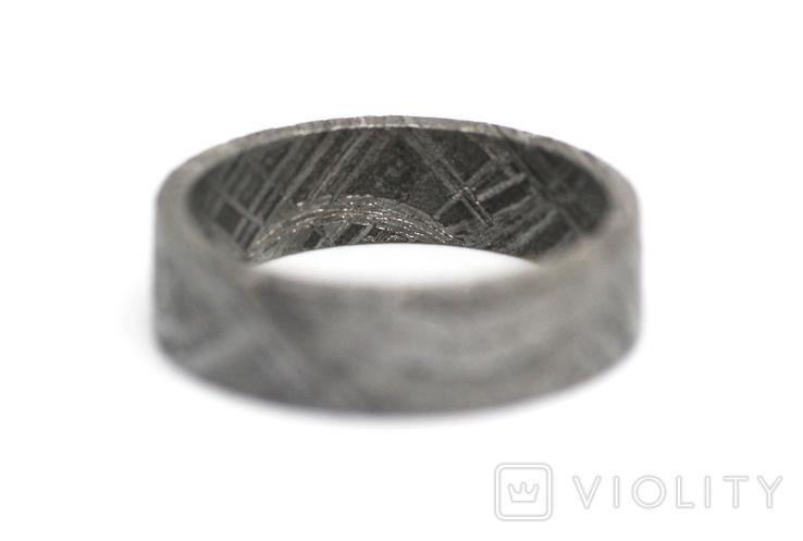 Каблучка із залізного метеорита Muonionalusta, з сертифікатом автентичності, фото №10