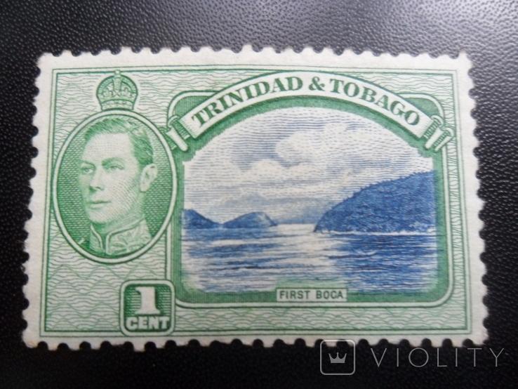 Британские колонии. Тринидад и Тобаго. Виды. МН, фото №2