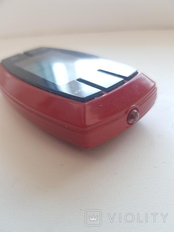 Брелок с цифровым термометром,фонариком и компасом, фото №6