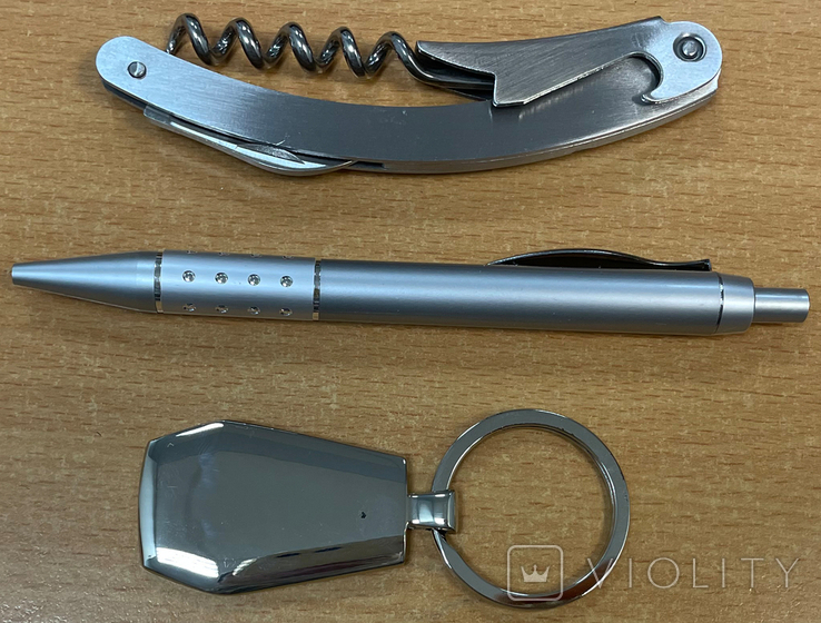 Набор: ручка, открывашка и брелок, фото №6