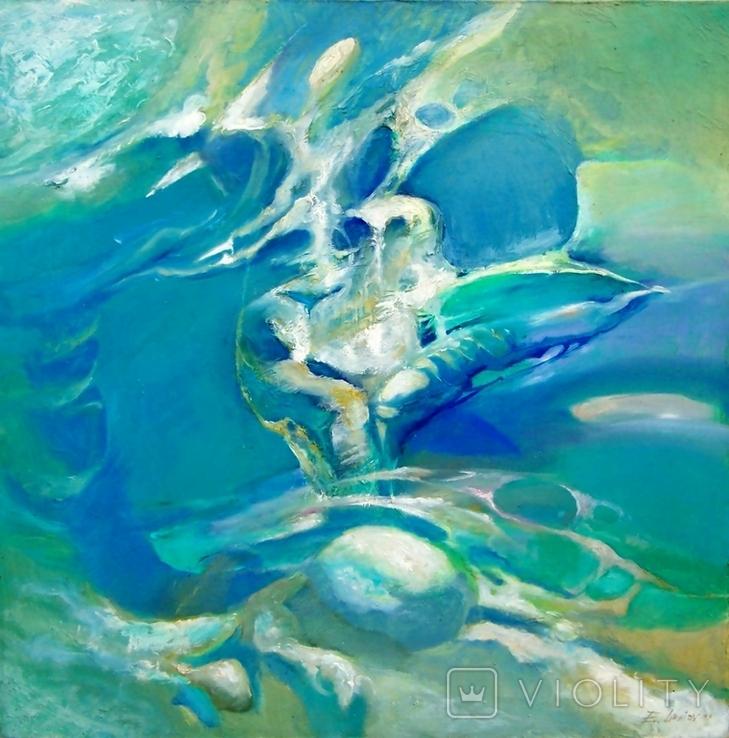 Абстрактная живопись на холсте №4