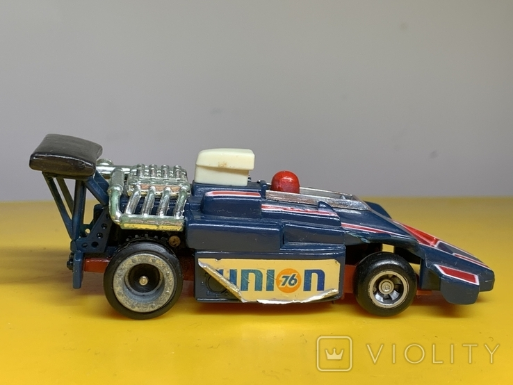 1/64 Ideal Toys TCR Race Racing Slot Jam Toy Car 1977, фото №4