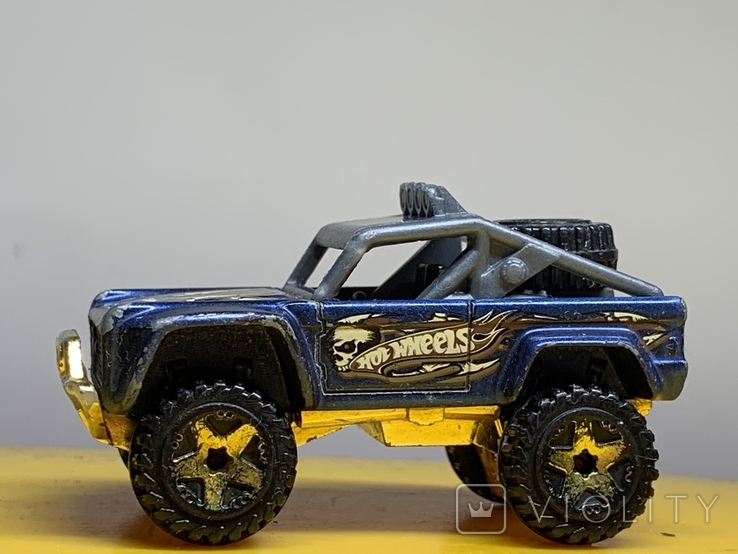 Hot Wheels Custom Ford Bronco Treasure Hunt, фото №4