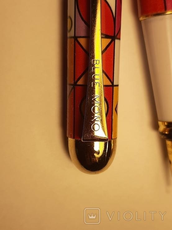 Ручка перьевая BLU MONO США, фото №4