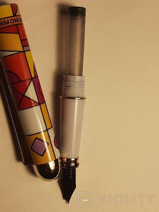Ручка перьевая BLU MONO США, фото №6