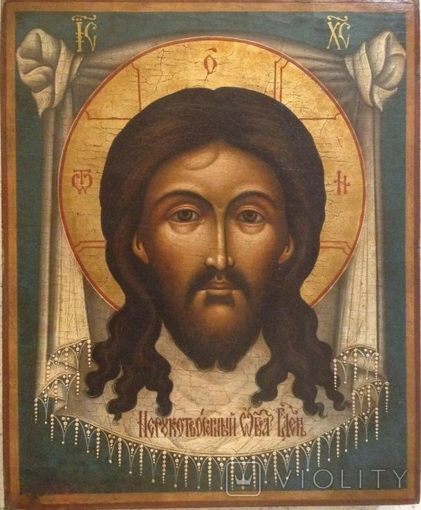 Икона Спас Нерукотворный, Живой Образ, фото №2
