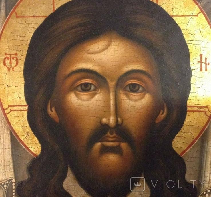 Икона Спас Нерукотворный, Живой Образ, фото №5