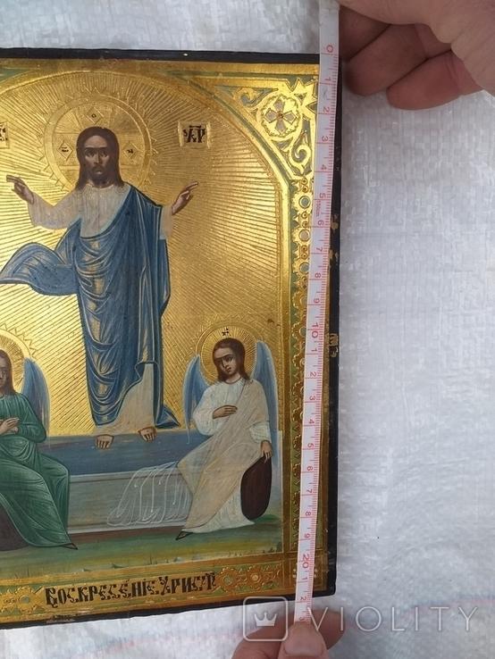 Пара Икон Воскресенье Христово и Богородица, фото №8