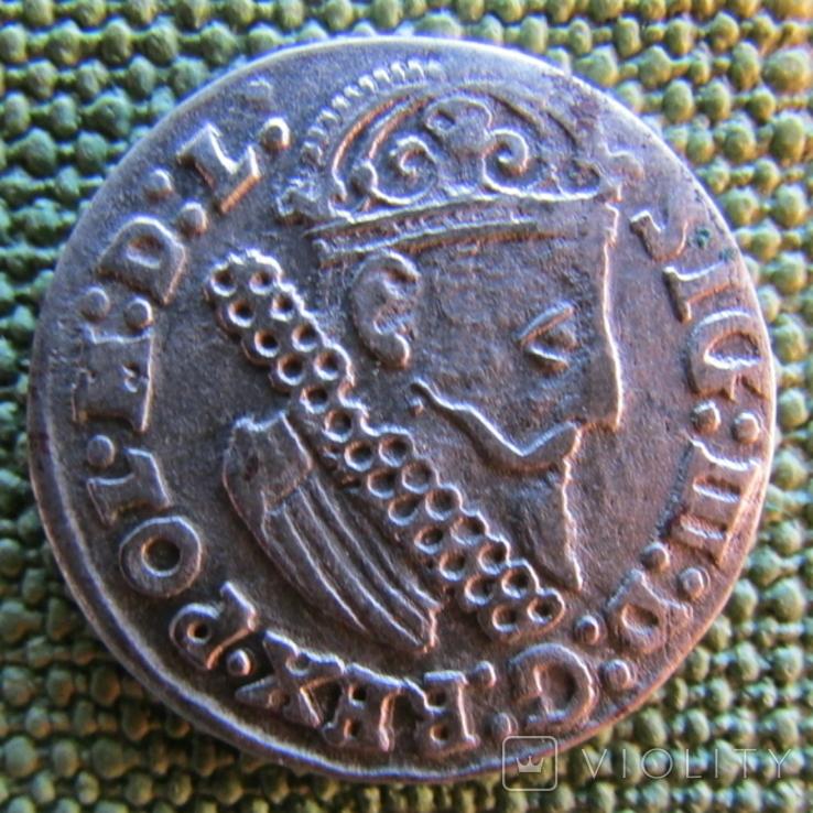 Трояк 1624 года, фото №2