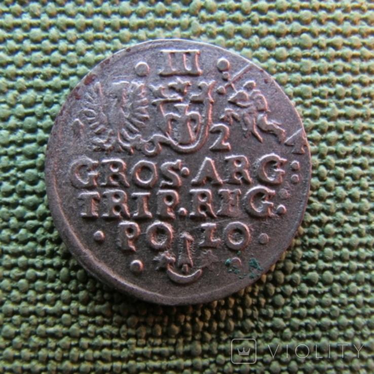 Трояк 1624 года, фото №6