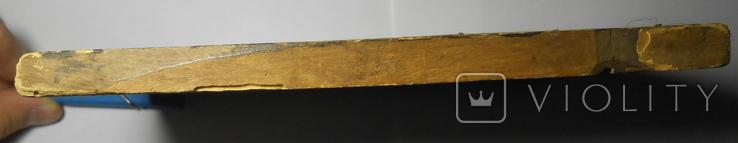 Икона Вседержитель старая 21,7х15х1,4, фото №8