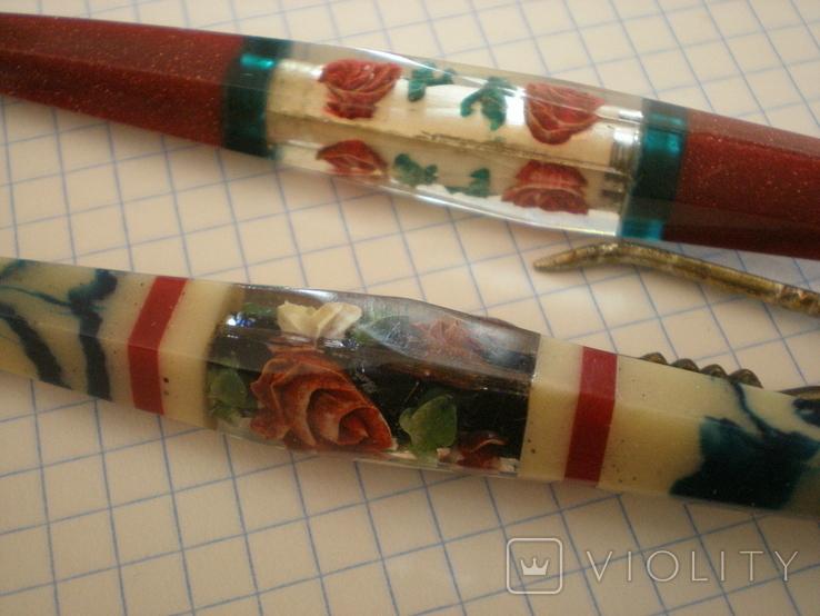 Две шариковых ручки, фото №6