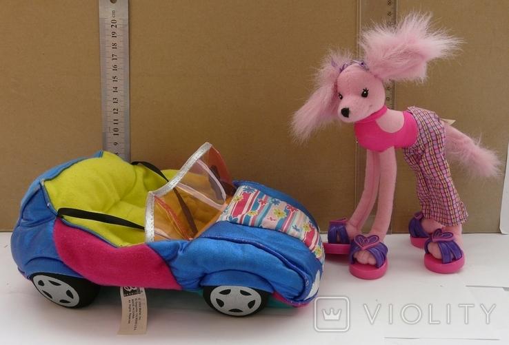Машинка з собакою для барбі Barbie MATTEL 2002 EL SEGUNDO, фото №3