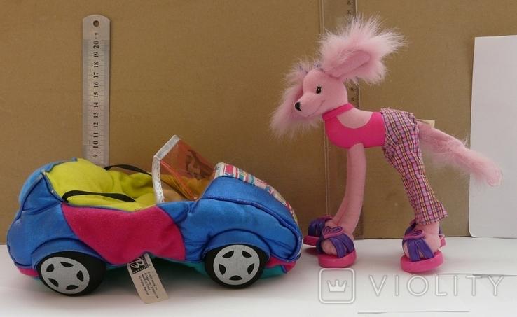 Машинка з собакою для барбі Barbie MATTEL 2002 EL SEGUNDO, фото №4