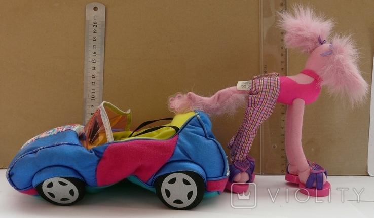 Машинка з собакою для барбі Barbie MATTEL 2002 EL SEGUNDO, фото №5