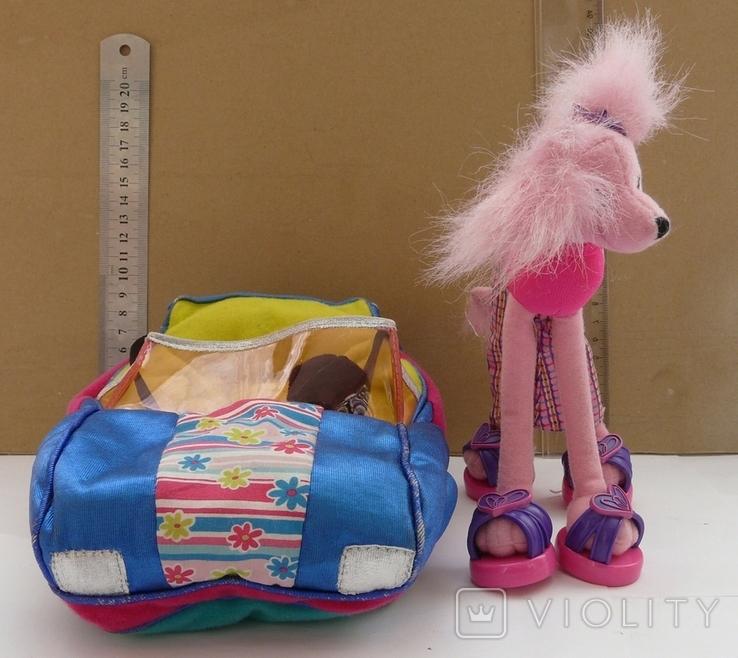 Машинка з собакою для барбі Barbie MATTEL 2002 EL SEGUNDO, фото №6