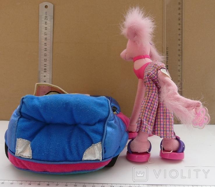Машинка з собакою для барбі Barbie MATTEL 2002 EL SEGUNDO, фото №13
