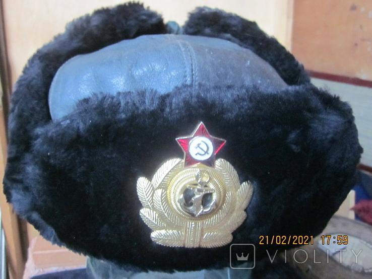Шапка офицера ВМФ., фото №2