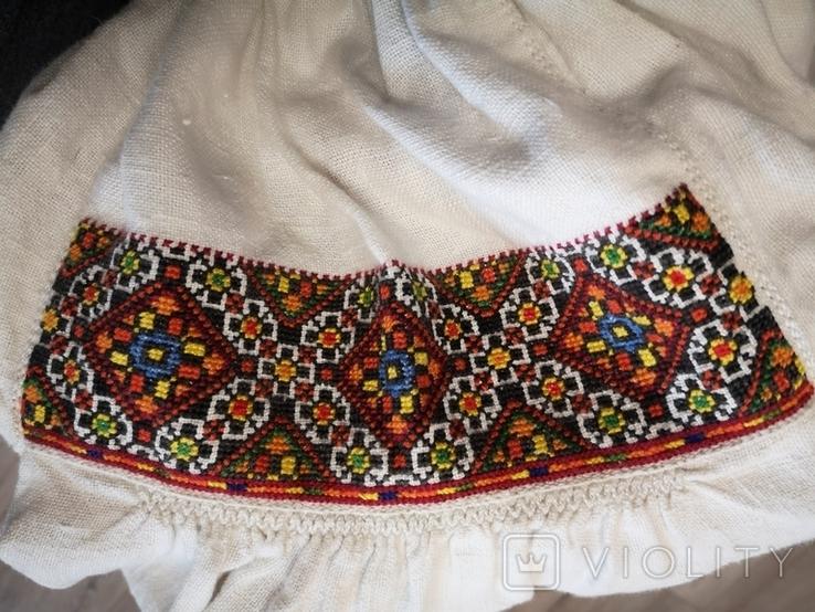 Традиційна сорочка с.Космач р.S зшита вручну, фото №3