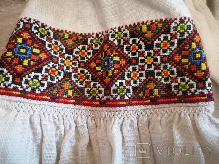 Традиційна сорочка с.Космач р.S зшита вручну, фото №2