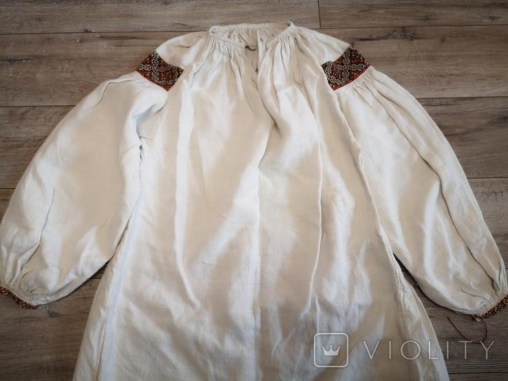 Традиційна сорочка с.Космач р.S зшита вручну, фото №10
