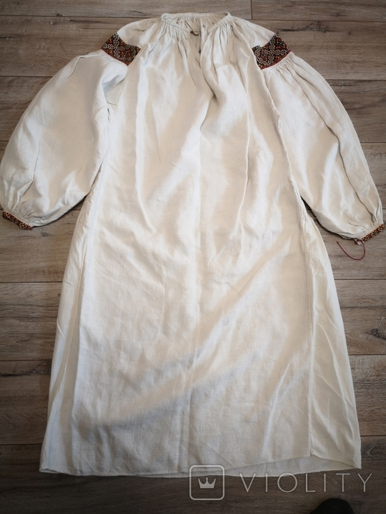 Традиційна сорочка с.Космач р.S зшита вручну, фото №11