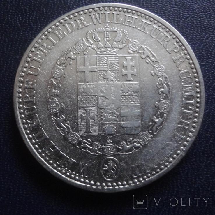 1 талер 1836 Гессен Кассель серебро (1.4.6), фото №3