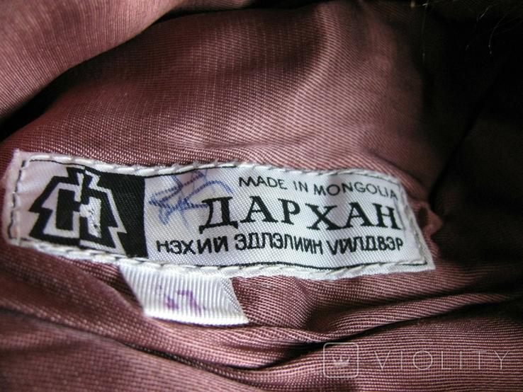 Зимння шапка з лами Монголія 50-70 років, фото №5