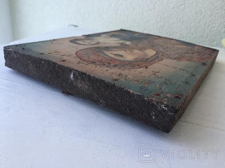 Божья матерь Тихвинская - 23,5х16,7 см., фото №7
